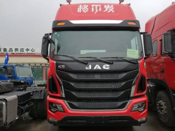 92万元 杭州格尔发k5牵引车促销  江淮 格尔发k5重卡 430马力 6x4牵引