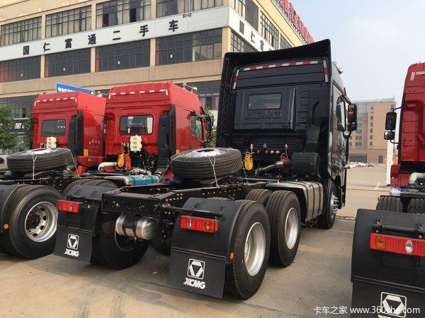 徐工 汉风g9重卡 530马力 6x4 牵引车装配高顶驾驶室,动力方面,搭载