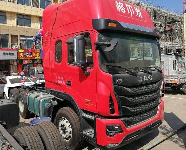 九月优惠 南京格尔发k5牵引车售32万元