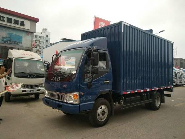 江淮4米2厢式货车国庆活动图片
