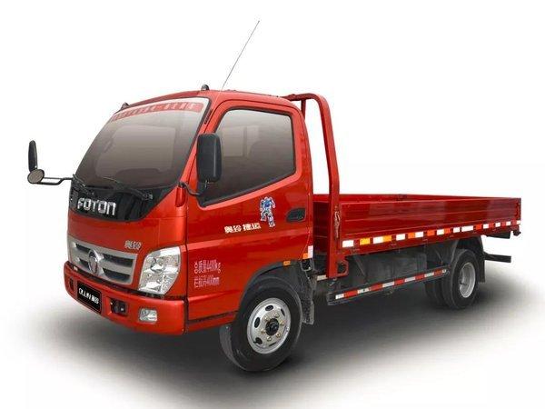 奥铃tx是奥铃品牌依托福田汽车完善的工业4.