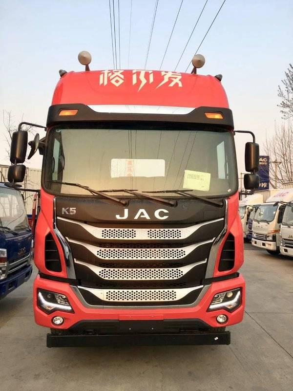 江淮 格尔发a5w重卡 轻量化版 350马力 6x4牵引车(hf251p1k5e33s3v)
