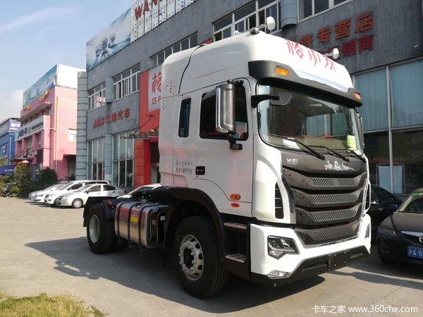 新车促销上海格尔发k5牵引车售22.8万