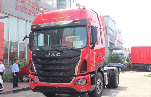 新车到店 上海格尔发k5牵引车仅23.6万