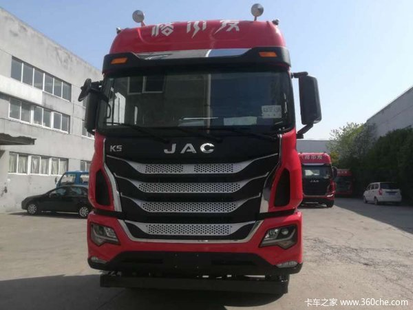车型名称 江淮 格尔发k5w重卡 标载型 440马力 6x4牵引车 车型公告号