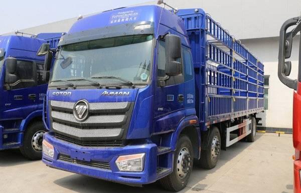 直降3万上海欧曼etx载货车热销中图片
