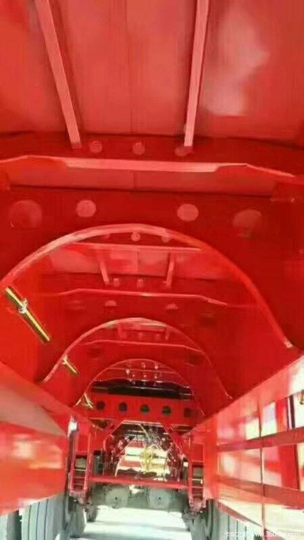 13.75长3米宽前后等宽!可做抽拉!整车高强板低平板半挂车图片