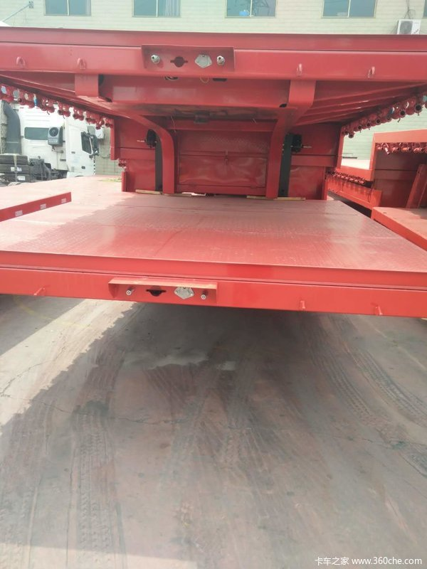 专业消费13.75×3米和17.5×3米低平板低平板半挂车图片