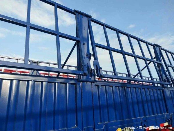 13米标准侧翻正规车型全国上户,可加高花篮自卸半挂车图片