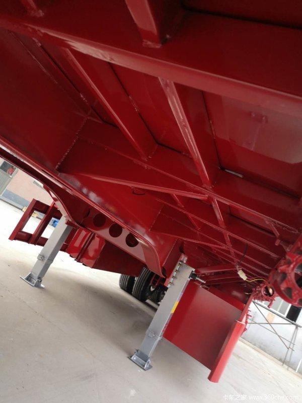 13米60公分篮板标车栏板式半挂车图片