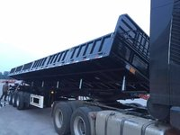厂家直销:超轻型侧翻自卸车`长13米/11米、可以旧换新