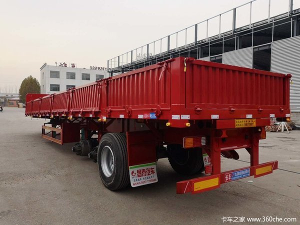 最轻自卸整车自重5.8吨自卸半挂车图片