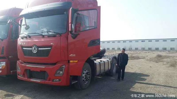 东风天龙KL牵引车火热促销中 让利高达1.5万
