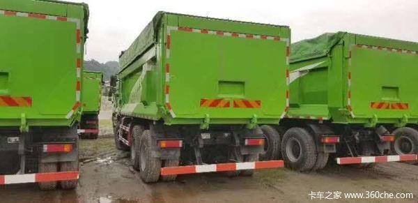 陕汽重卡 德龙新M3000 350马力 6X4 5.8米自卸车(SX3250MB4041)