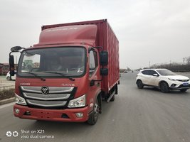 城市配送首选车,欧马可S3超级卡车