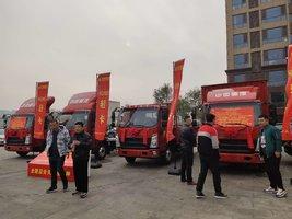 北京好运达携手重汽国六车型豪沃精彩亮相北京