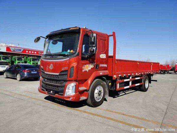东风柳汽 新乘龙M3中卡 185马力 4X2 6.75米栏板载货车(LZ1166M3AB)