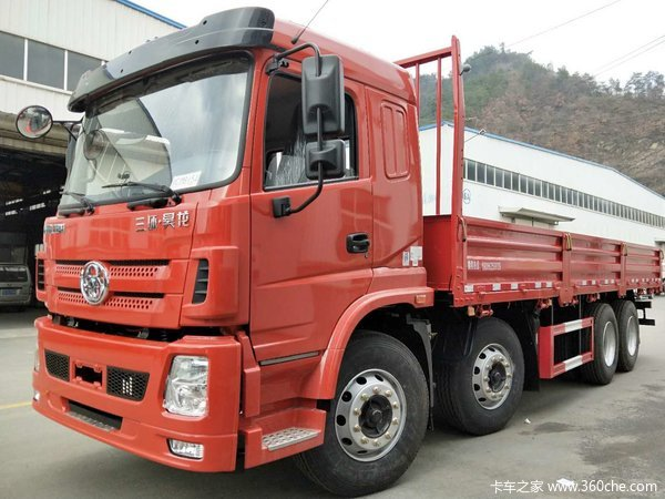 三环十通 昊龙 310马力 8X4 7.6米栏板载货车(STQ1311L16Y4B5)