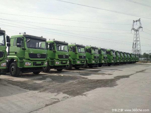 陕汽重卡 德龙新M3000 城建加强版 375马力 8X4 6.2米自卸车(SX3310MB306)
