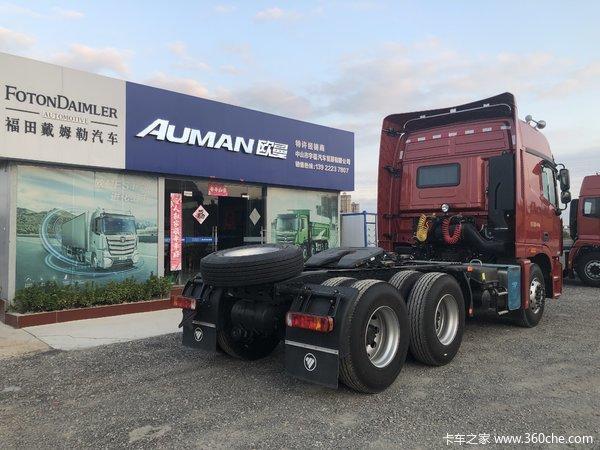 中山宇福欧曼GTL 460马力 6X4 AMT自动挡。