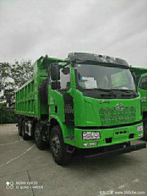 一汽解放 J6M重卡 320马力 8X4 6.8米自卸车(大柴)(CA3310P63K1L1T4E5)
