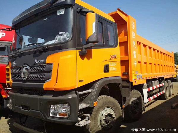 陕汽重卡 德龙X3000 超强版 500马力 8X4 8.6米自卸车(SX33105C486B)