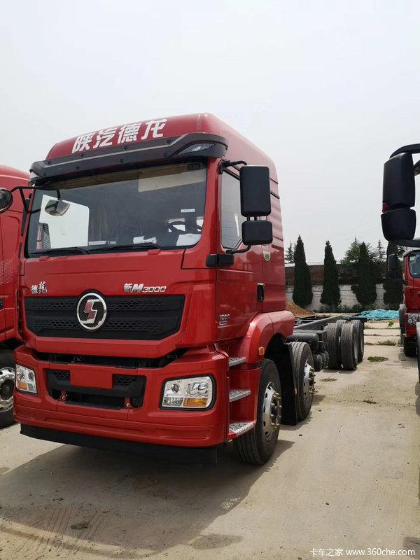 陕汽重卡 德龙新M3000 绿通版 350马力 8X4 9.55米厢式载货车(SX5310XXYGB456)