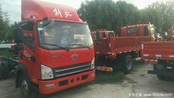 解放 虎VH 130马力 4X2 4.21米平板运输车(CA5043TPBP40K2L1E5A84)