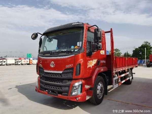 东风柳汽 新乘龙M3中卡 185马力 4X2 6.2米栏板载货车(LZ1180M3AB)