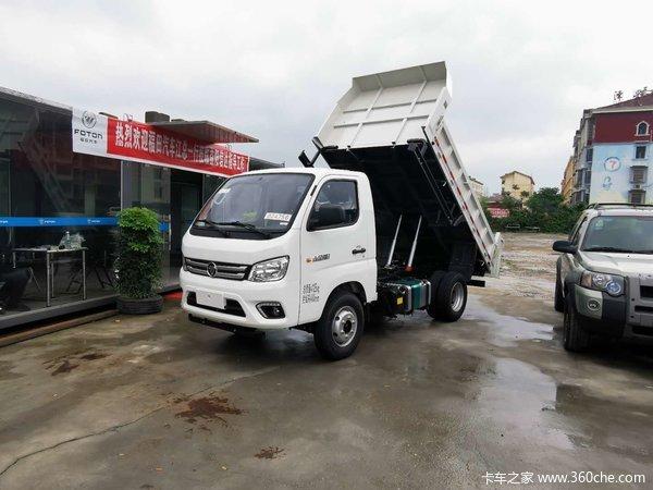 福田瑞沃 小金刚Ⅰ 88马力 4X2 2.8米自卸车(BJ3040D8JBA-AA)