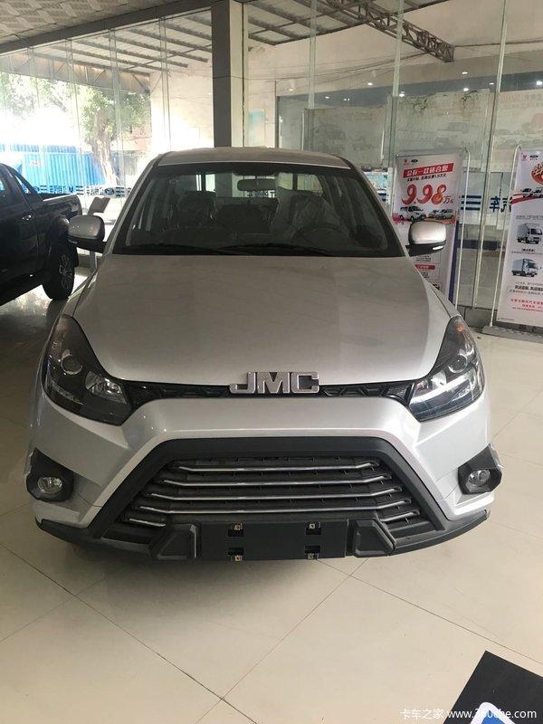 江铃 域虎5 2019款 进取款 2.0T柴油 141马力 手动 两驱 标轴距双排皮卡