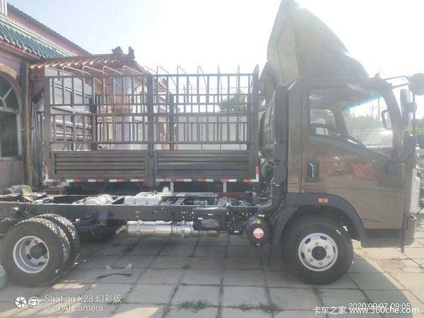 中国重汽HOWO 统帅 2019款 156马力 4.15米单排厢式轻卡(国六)(ZZ5047XXYH3315F141)