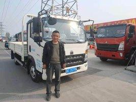 恭喜恭喜老板喜提王系列豪沃轻卡 喜提王载货车
