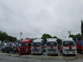 恭喜上海坦爽冷链物流 喜提德龙K3000载货车