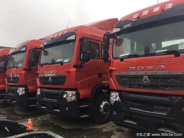 中国重汽 HOWO TX重卡 400马力 4X2 牵引车(ZZ4187N361GF1)