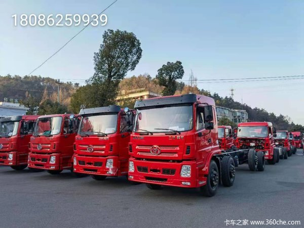 三环十通 昊龙 260马力 8X2 7.2米栏板载货车(STQ1319L14Y3A5)