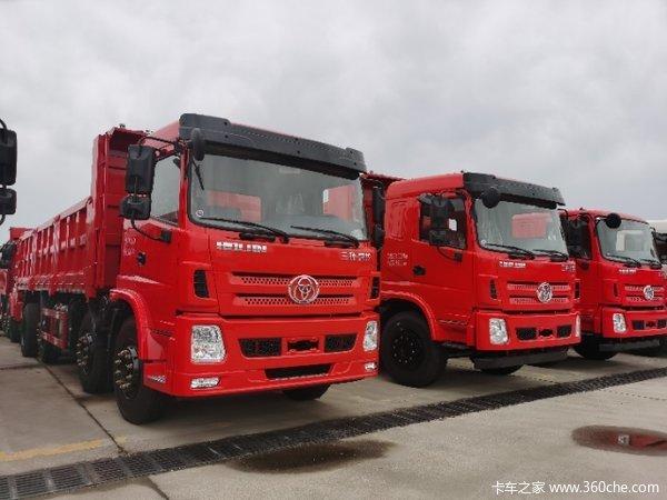 三环十通 昊龙中卡 270马力 8X2 7米自卸车(中桥提升)(STQ3317L14Y3A5)