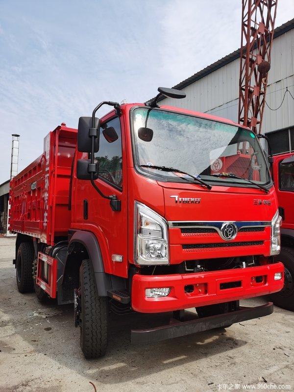 三环十通 昊龙中卡 220马力 6X2 4.3米自卸车(STQ3257L05Y3D5)