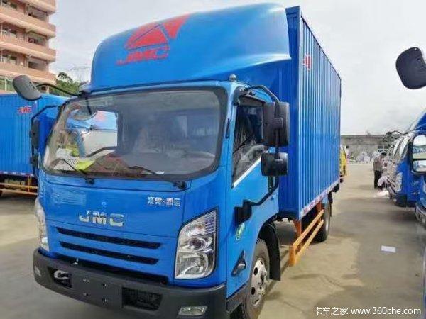 江铃 凯运升级版 152马力 4.12米单排厢式轻卡(国六)(带后尾板)(JX5045XXYTGE26)