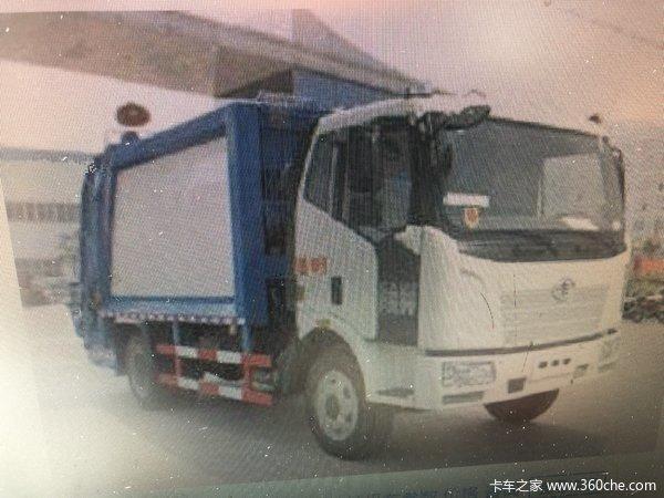 一汽解放 J6L 180马力 4X2 压缩式垃圾车(底盘)