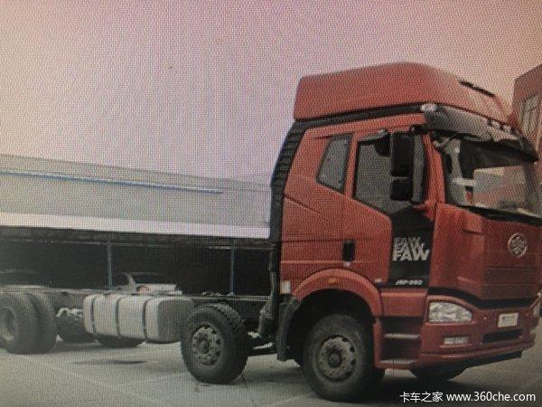 一汽解放 新J6P重卡 质惠版 280马力 6X2载货车底盘(CA1250P63K1L6T3A1E5)