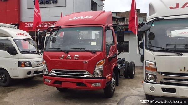 抗疫特惠黔东南康铃J5载货车仅售7.58万