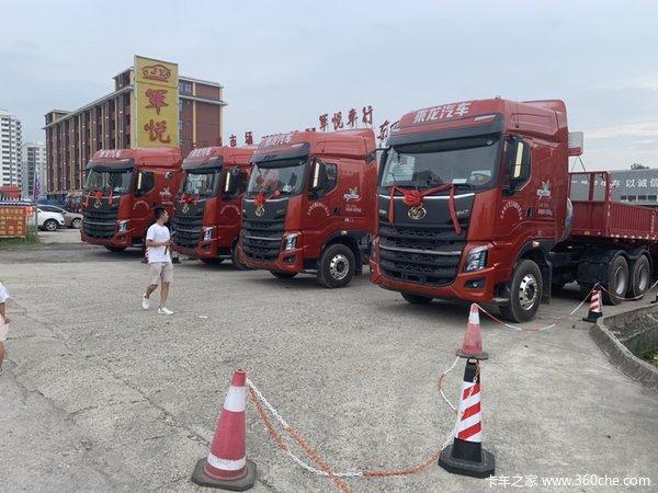 降价促销柳汽乘龙H7牵引车仅售41.40万