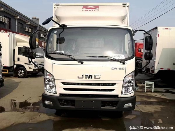 仅售9.82万江铃凯运蓝鲸载货车优惠促销