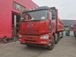 济南银月解放J6P420马力8*4自卸车钜惠1.3万元