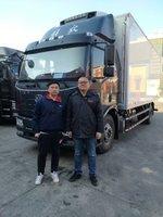 恭喜赵先生喜提解放J6L冷藏车