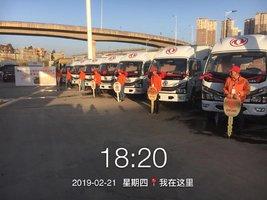 7台多利卡D6载货车完成交付