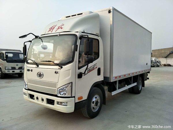 J6F载货车火热促销中 让利高达0.5万