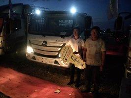 恭喜张先生 喜提欧马可S3载货车