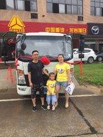 恭喜龙岩荣德新能源有限公司老板娘喜提新车 喜提悍将载货车